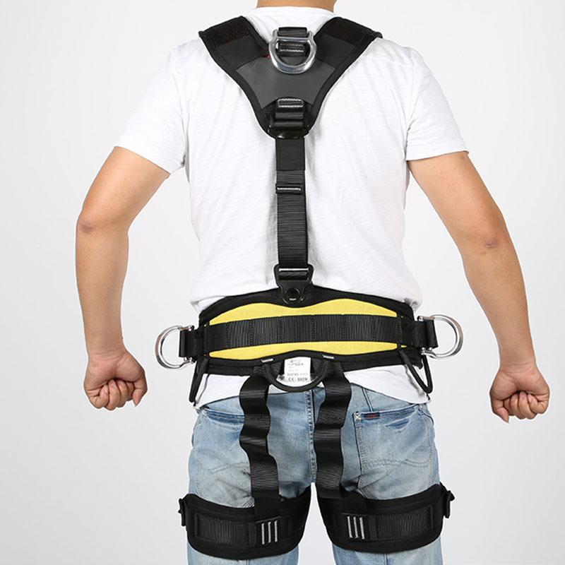 Body Safety Belt for High Altitude Operation Rock Climbing Rescue Body Safety Harness Comfortable Safe Rock Climbing Equipment - 5