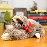 Collecters Sloth Folivora Kids Plush Toys Stuffed Animals Dolls Simulation Lovely Baby Christmas Gifts Lifelike Bradypus Toys