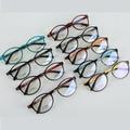 Лучше продать мода круглый ultem eyeglsses кадры простые оптических стекол ацетат оправ смешанных цвета близорукость 1221 10 шт./лот