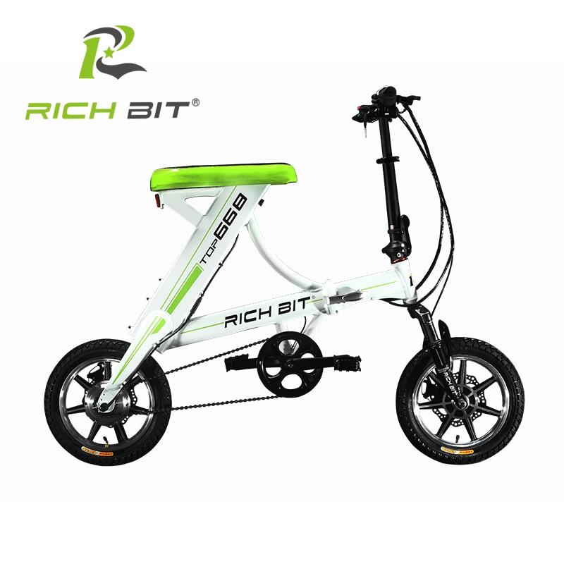 buy richbit mini folding electric bike. Black Bedroom Furniture Sets. Home Design Ideas