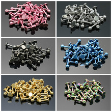whoesale 50pcs labret piercing lip bar ear studs plug stainless steel silver black gold rainbow blue pink body pircing jewelry