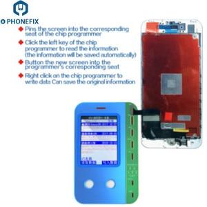 Image 5 - JC V1 LCD Lập Trình Viên Cảm Biến Ánh Sáng Cảm Ứng Rung Đọc Dữ Liệu Viết Phục Hồi Công Cụ Sửa Chữa Cho Iphone 11 Pro Max XS X 8 Plus 8 7P 7