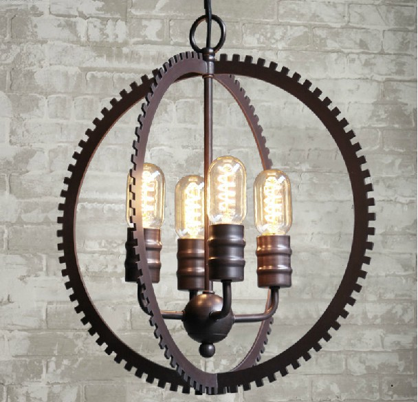 American Country Industrial Vintage Contracted Style Bedroom Pendant Light Coffee Shop Study Room Decoration Lamp Free Shipping 3 5 heads american industrial creative style vintage pendant light parlor light coffee shop decoration lamp free shipping