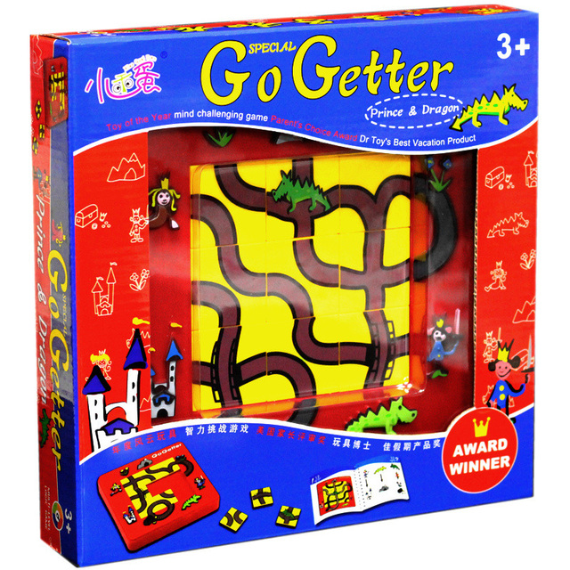 go getter prince and dragon puzzle board game family party best