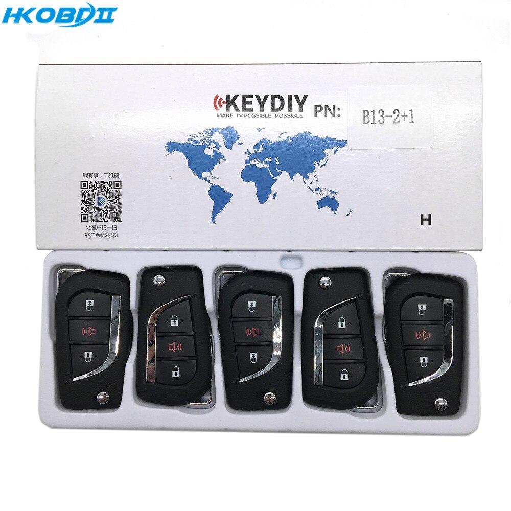 HKOBDII KEYDIY Original KD B13 2 1 Button B series Universial Remote For KD900 KD X2