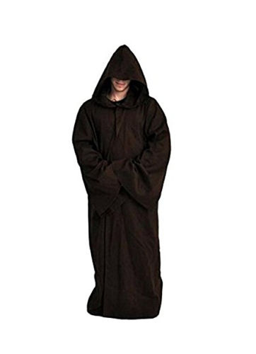Movie Star Wars Cosplay Costume Kenobi Darth Vader Jedi TUNIC Adult Men Hooded Robe Cloak Outfit Halloween Cosplay Costumes