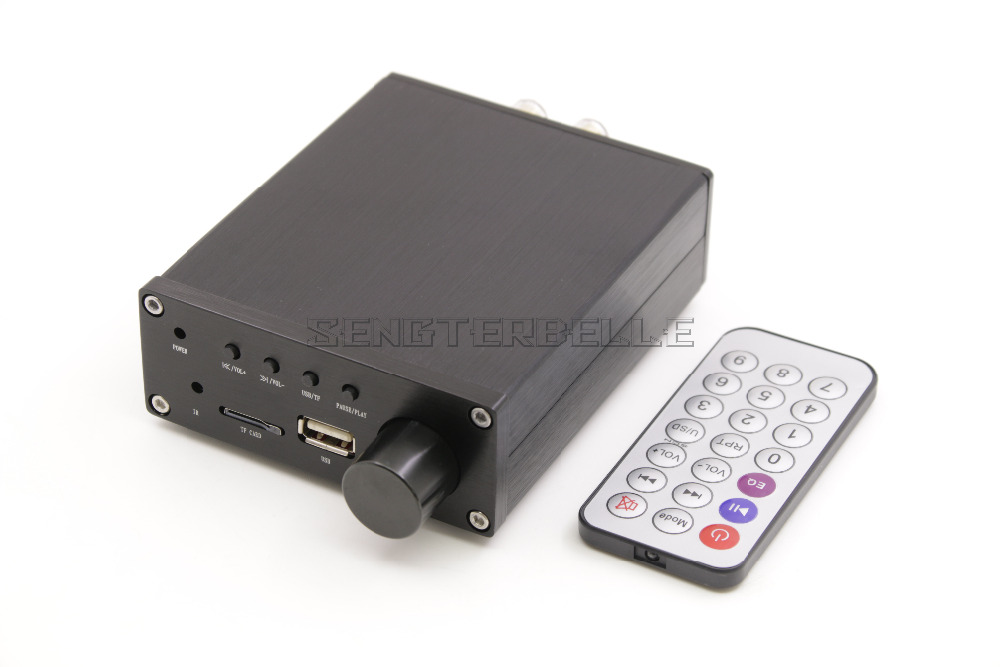 HiFi Mini lecteur sans perte HD MP3 WAV 50 W + 50 W TPA3116 amplificateur de puissance numérique amplificateur de voiture