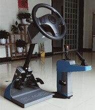 Driving school drive learning simulator game steering wheel european truck model racing car play computer games english software