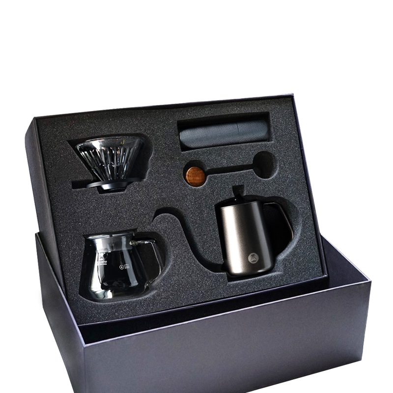 Timemore Slim Manual drip coffee Gift box Brew coffee ware sets Household manual coffee grinder Pour over coffee gift set