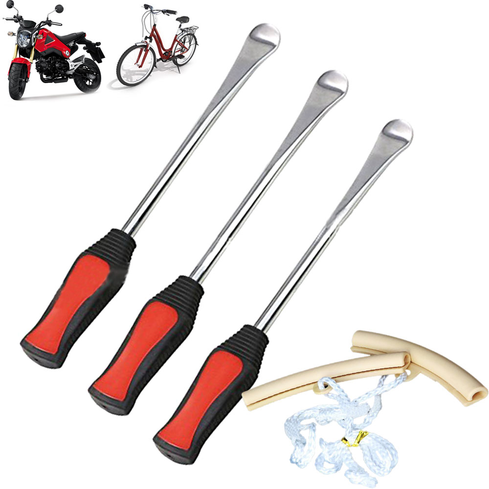 Dr.Roc Tire Spoon Lever Iron Tool Kits Motorcycle Bike Professional Change Bag