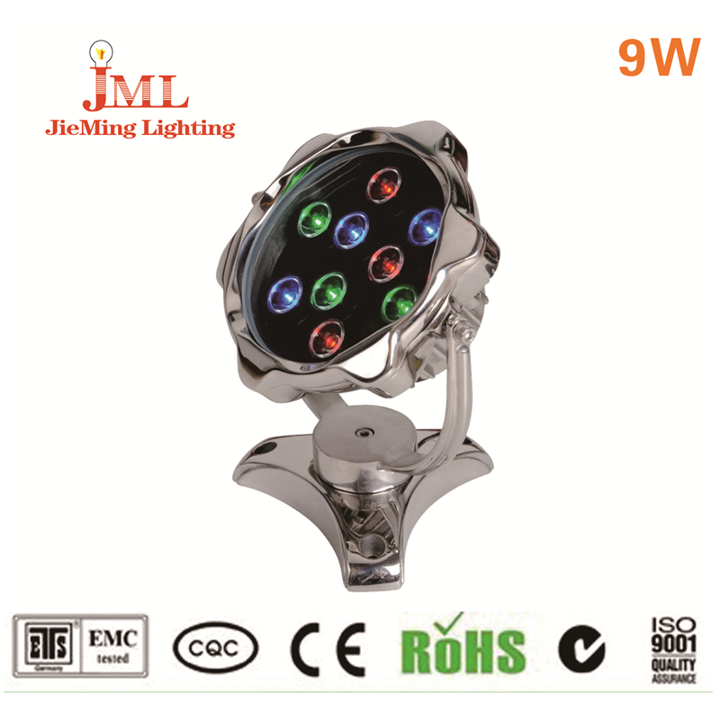 2017 Hot sales! LED Swimming Pool Light IP68 Waterproof Fountain Light led RGB lamp Pond Fish Tank Aquarium