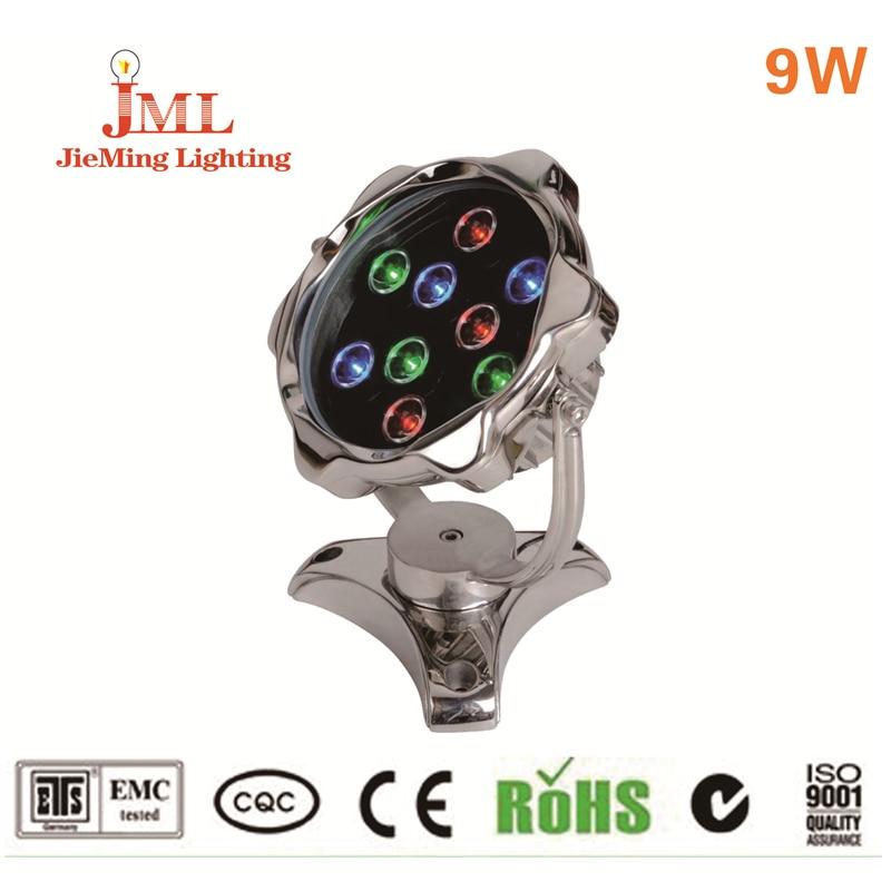 2017 Hot sales! LED Swimming Pool Light IP68 Waterproof Fountain Light led RGB lamp Pond Fish Tank Aquarium