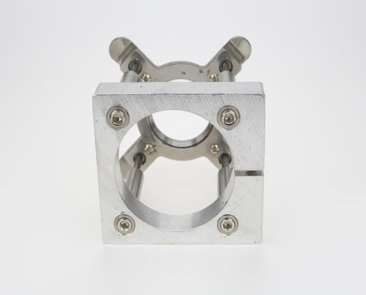 цены  China Dia 90mm Automatic Fixture Clamp Plate Device for CNC 4.5kw Spindle Motor 90mm-Fixture