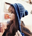 21-year-old multicolour knitted hat autumn and winter fashion winter thermal knitted winter hat ear