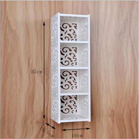 Online Shop Large Ikea Style Floating Wall Shelves 4 Cube Shabby