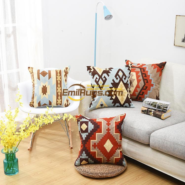 Coffee Shop Model Room Decoration Turkish Style Kilim Embroidery Cushion  National Pillow Embroidery Pillow 11gc154yg2
