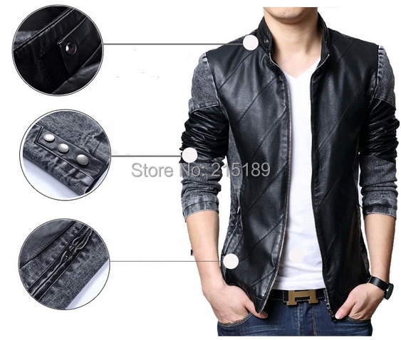 Aliexpress.com : Buy Vintage stylish Jeans denim jacket coat men ...