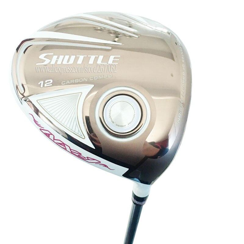 New Women Golf Clubs Maruman SHUTTLE Golf Driver 12 Loft Clubs Driver Graphite Shaft L Flex Golf Shaft Cooyute Free Shipping