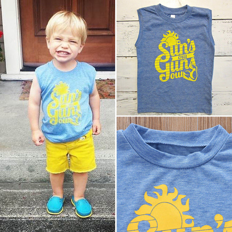 Toddler Baby Boys Summer Clothing Short Sleeve T-Shirt Shorts colt Pattern Outfits Set