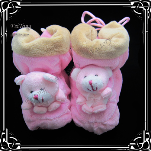 Fashion flock  winter Baby Shoes  infant baby Boots cute baby boots can mix order