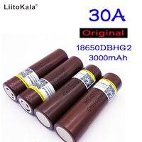 4pcs New Original For LG HG2 18650 3000mAh Battery 18650HG2 3 6v The Discharge 30a Dedicated