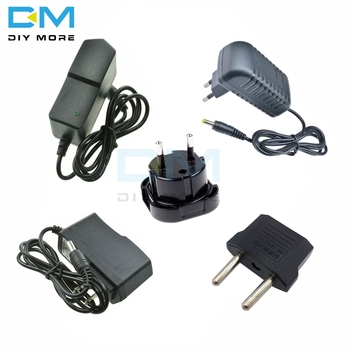 Power Adapter DC 5V 9V 12V 1A 2A 3A Adaptor 220V To 5 V 12 V Volt Charger Supply Universal Switching EU US Plug image