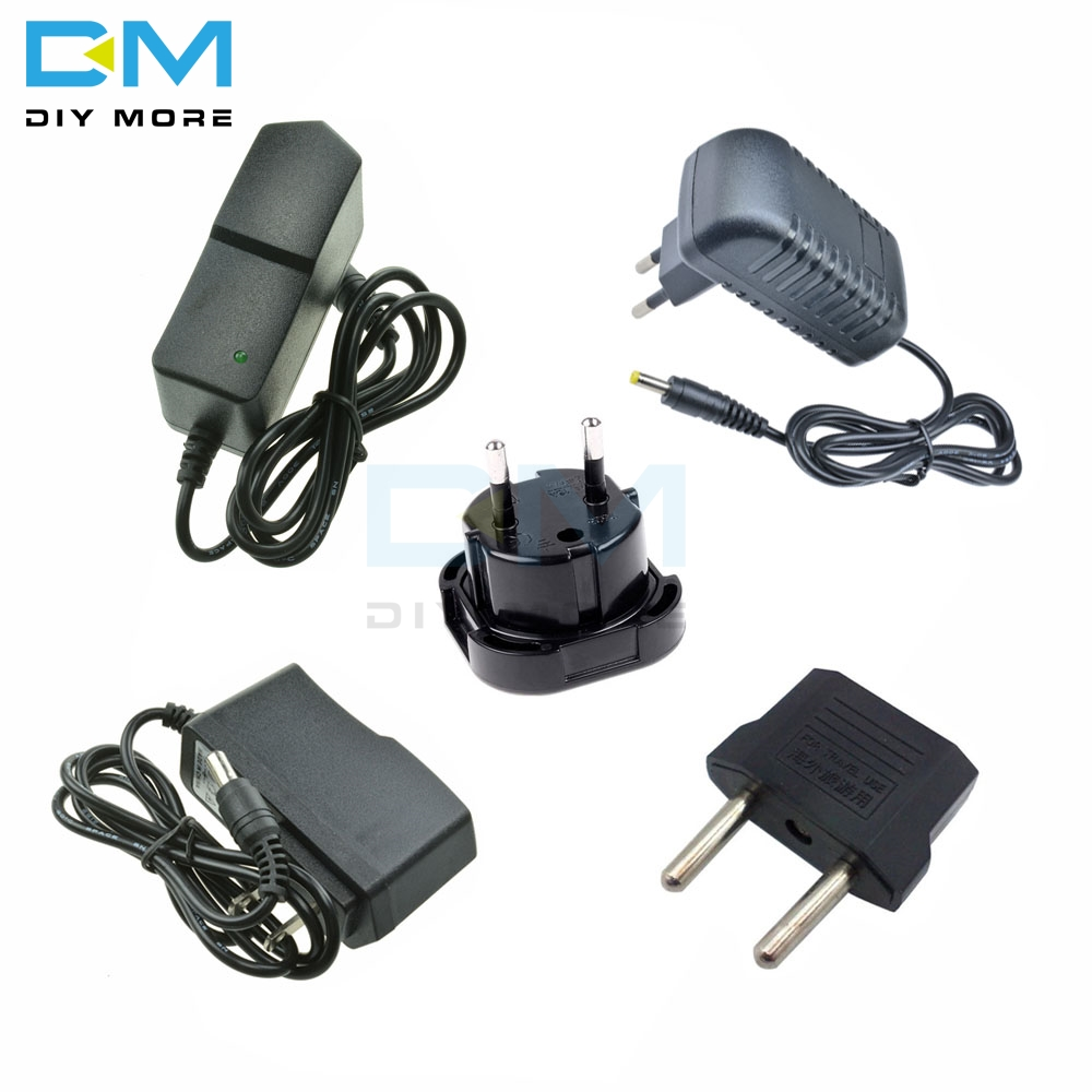Power Adapter DC 5V 9V 12V 1A 2A 3A Adaptor 220V To <font><b>5</b></font> V <font><b>12</b></font> V Volt Charger Supply Universal Switching EU US Plug image