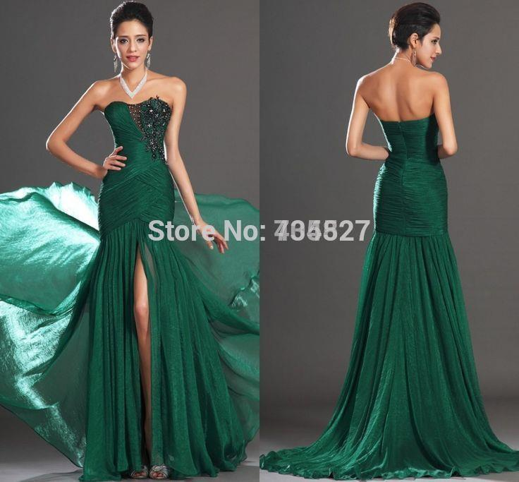 Compare Prices on Emerald Green Prom Dress Long- Online Shopping ...