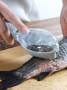 Fish-Skin-Brush Scraper Knife-Device Remove-Fish-Knife Scaler Cleaning-Peeler Graters