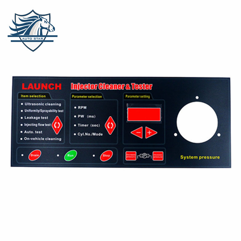 Hot sale 100% Original English Panel for Launch CNC602A Injector Cleaner&Tester CNC-602A Keyboard with facotry price