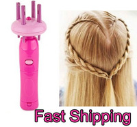 Hot Selling Free shipping Automatic twist braid knitted device Four head braids hair braider for women as see on TV products