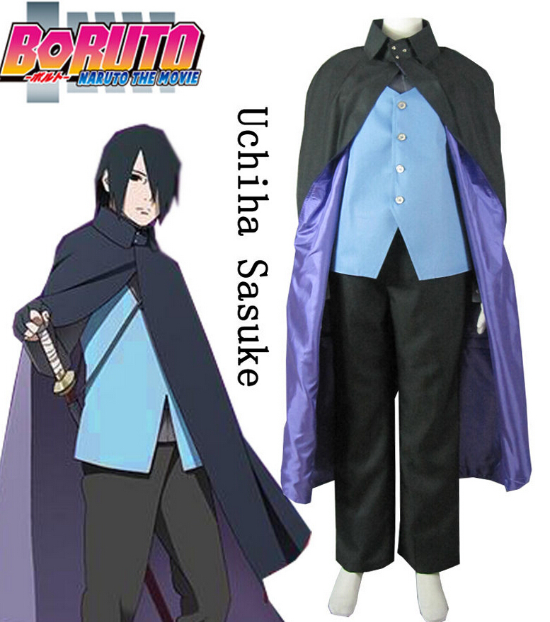 все цены на Boruto: Naruto the Movie Uchiha Sasuke Konoha Suit Anime Cosplay Costume BORUTO -NARUTO THE MOVIE-