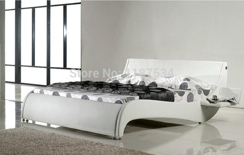Large king size soft bed PU+PVC leather soft bed C372 smoby детская горка king size цвет красный