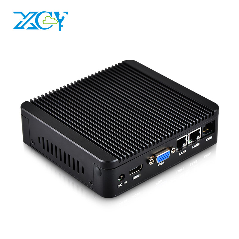 XCY Intel Celeron J1900 Mini PC Barebone Mini Computer Fanless Windows 10 Linux Pfsense Dual Gigabit Ethernet WiFi HDMI VGA RJ11 intel celeron j1900 quad core mini pc ddr3 8gb windows 10 mini computer celeron n2930 n2940 fanless barebone hdmi desktop pc