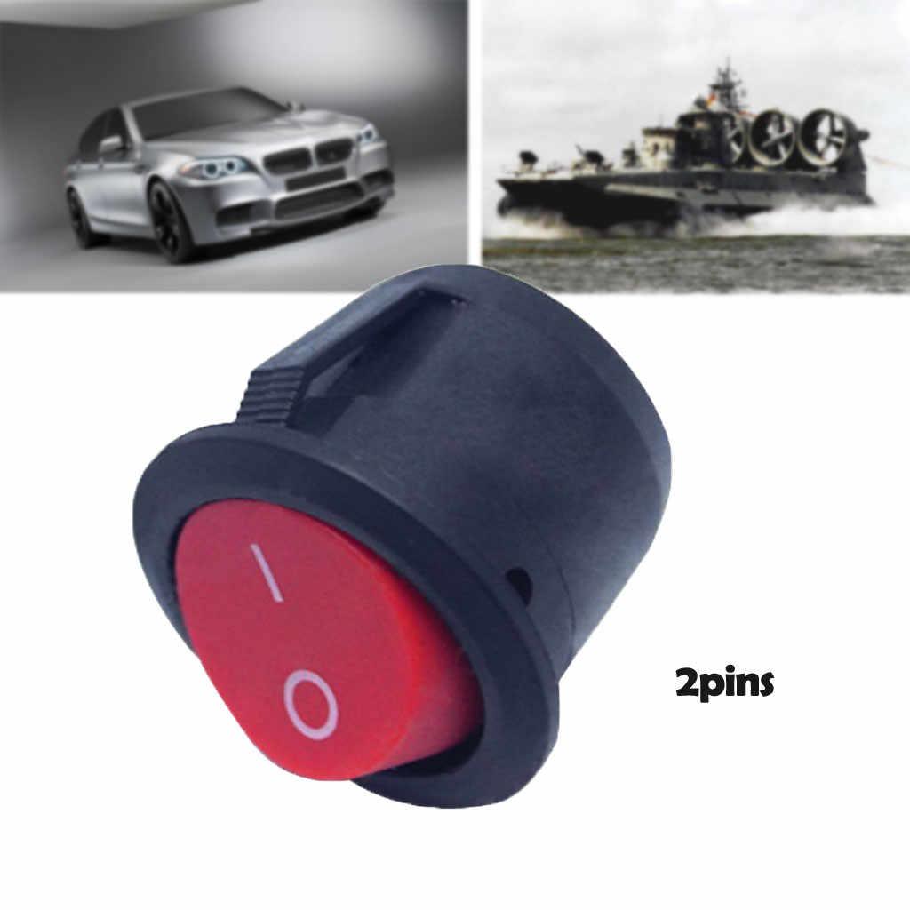 1 Uds. Interruptor de 2 pines, Terminal de soldadura ON/OFF, interruptor de botón basculante de barco, 6 a/250 V, 10 a/125 V, piezas interiores de coche, triangulación de envío #30