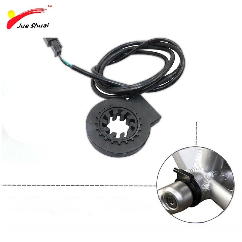 PAS Pedal Assist Sensor KT-V12L KT V12 10 Magnets Dual Hall Senssors 10 Signals PAS Sensor Pedal Assistant For Electric Bike Kit