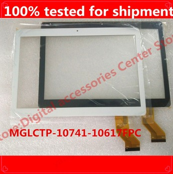 5PCS/LOT 10.1''inch touch screen, MGLCTP-10741-10617FPC touchscreen 100% New touch panel,Tablet PC touch panel digitizer