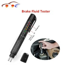 Auto Car Brake Fluid Tester Check Fluid Quality 5LED Indicator For DOT3/DOT4/DOT5.1 Car Diagnostics
