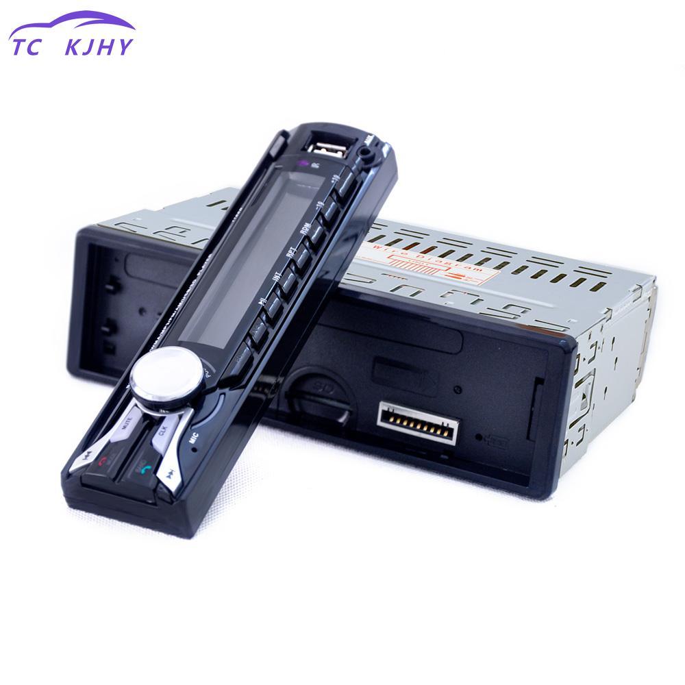 Handsfree Radios Tuner Remote Control Fm Car Radio Bluetooth Detachable Front Panel Auto Audio Stereo Car Mp3 Player Aux Usb