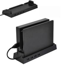 Nintend מתג רכזת Stand 4 יציאת USB Hub חיצוני ספליטר מתאם עבור Nintendoswitch התרחבות Nintendo NS קונסולת אבזרים