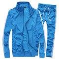 2016 hombres camiseta ocasional + sudaderas con capucha de los hombres de ropa deportiva traje 5XL + sportswear set & Men Hoodies + Chándales de Los Hombres conjunto + basculador ropa JNA060