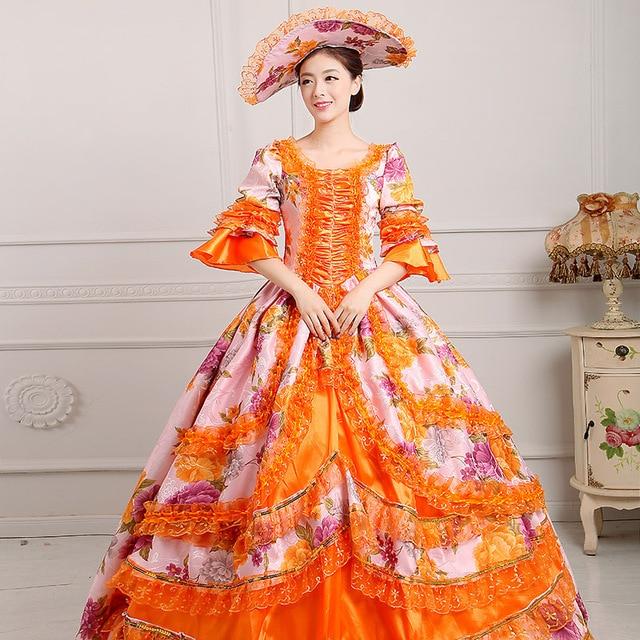 Gothic prom viktorianischen phantasie maskerade kleider brokat ...