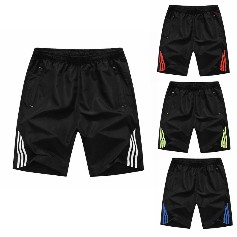Men Quick Dry Running Shorts Outdoor Sports Soccer GYM Workout Fitness Training Tennis Solid Sports Shorts With Zip PocketsMen Quick Dry Running Shorts Outdoor Sports Soccer GYM Workout Fitness Training Tennis Solid Sports Shorts With Zip Pockets
