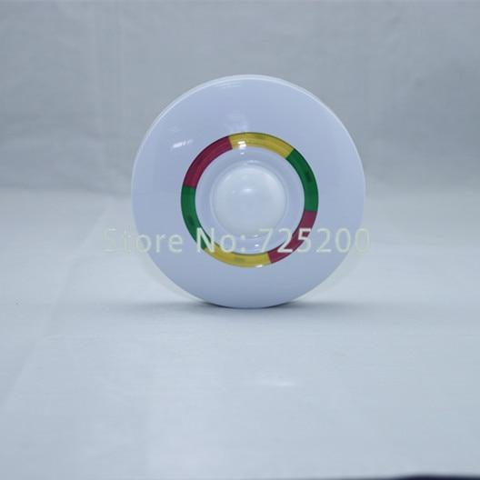 MC-7380R Wireless Ceiling PIR Motion Detector Pet Immunity 360 Degree Protection,Anti-EMI, Anti-White Light, Anti-Tamper Alarm