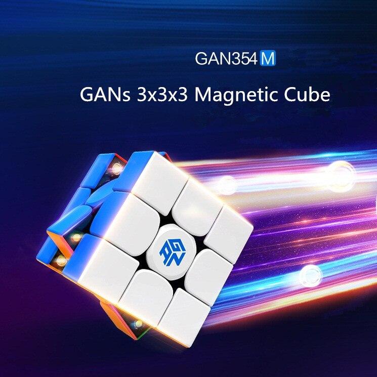 Nouveau GAN 354 M 3x3x3 Magico Cube Gans vitesse magnétique stabilité jeu lisse haut de gamme magique Cube Puzzle torsion jouets éducatifs - 6