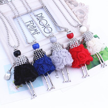 New Wholesale Long Necklace Sweater Chain Jewelry Skirt Girl