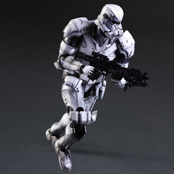 New SQUARE ENIX PA Play arts change Star Wars storm white soldiers 27cm PVC Action Figure Model Toys Gifts Collection