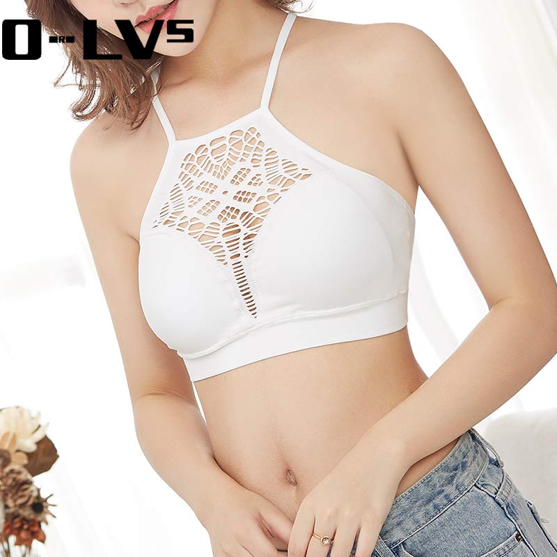 CMENIN Tube Tops Women Strapless Lace Camisole Backless Bra Bandeau font b Slim b font Sexy