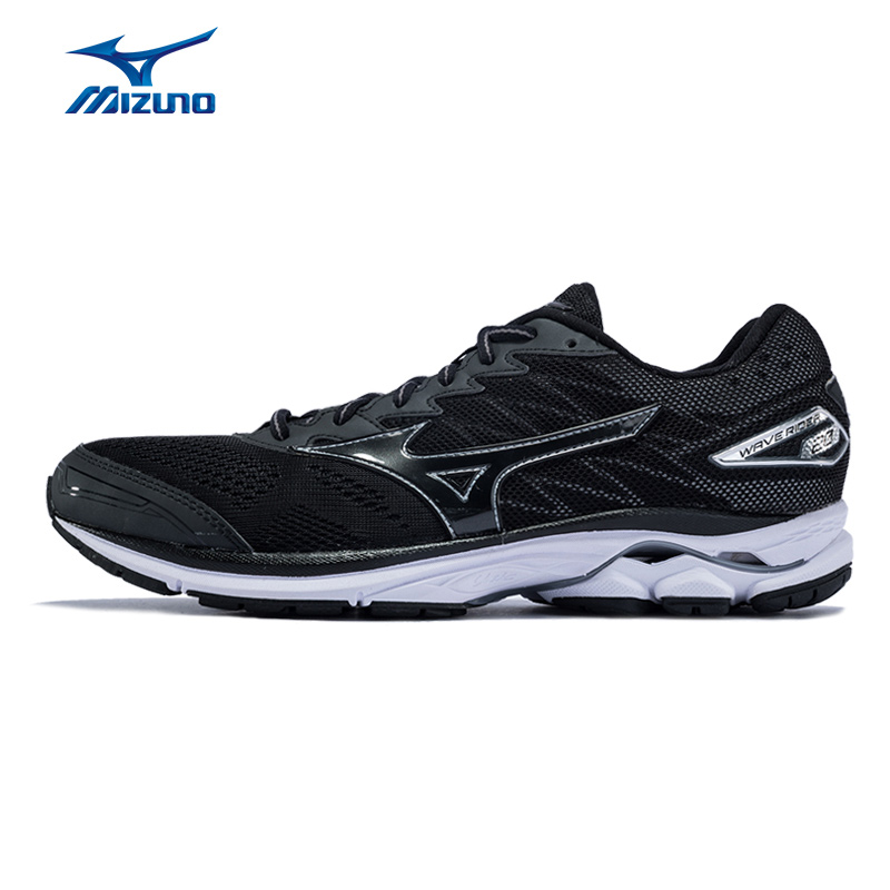 MIZUNO Men's WAVE RIDER 20 Running Shoes Breathable Wearable Sports Shoes Sneakers J1GC170313 XYP516 цена