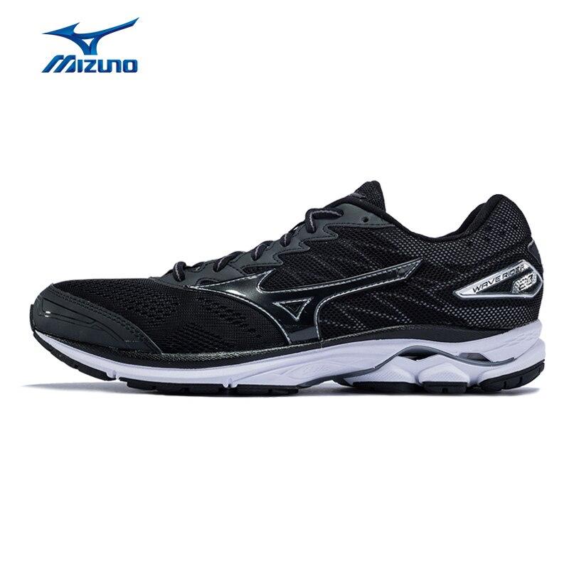 Mizuno мужская волна Rider 20 кроссовки дышащие носки Спортивная обувь Кроссовки J1GC170313 XYP516
